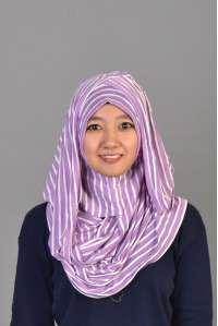 Instant Hanna Rayon Salur Purple