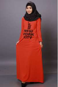 Gamis New York City Orange
